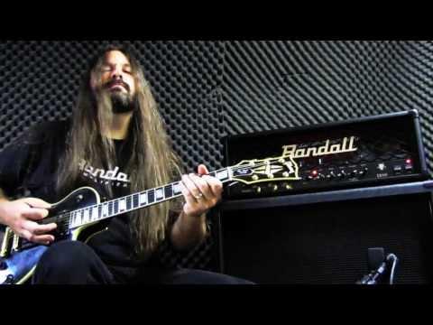 Randall Diavlo RD100 - Black Winter Demo - Metal