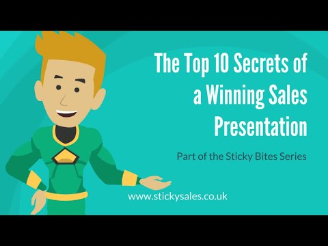 Free Sales Training Video The Top  Secrets Of A Winning Sales