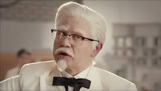 Реклама KFC полковник Сандерс Баскет