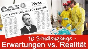 10 Studiengänge Erwartung vs. Realität (engl. sub.)