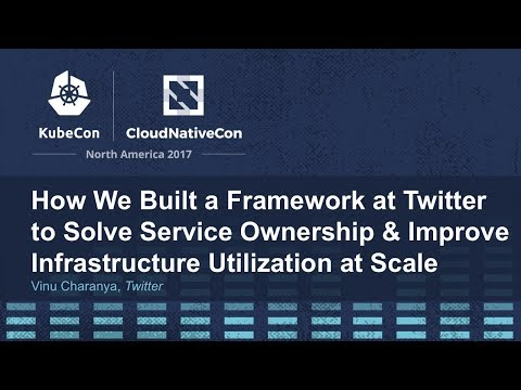 How We Built a Framework at Twitter to Solve Service Ownership & Improve Infrastructure Utilization