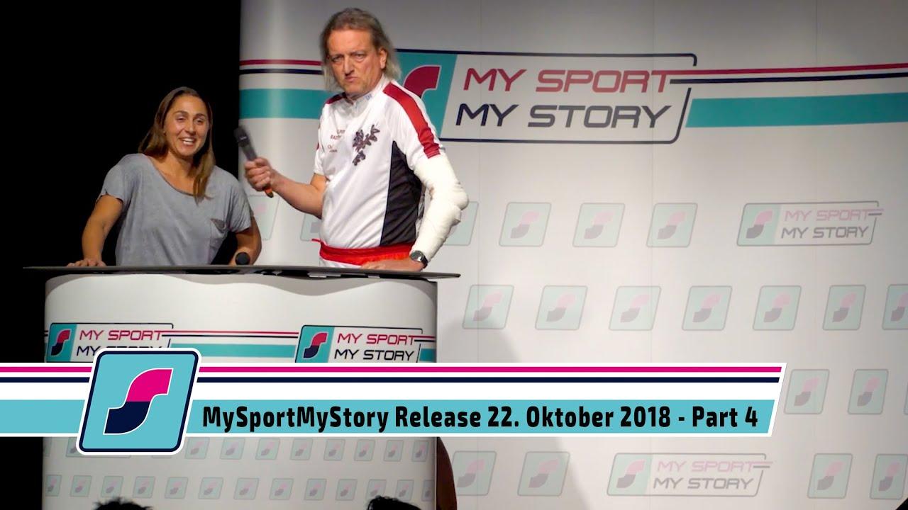 MySportMyStory Release am 22. Oktober 2018 - Part 4 - Tamira Paszek