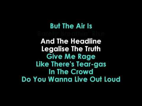 Revolution Radio karaoke Green Day   | GOLDEN KARAOKE