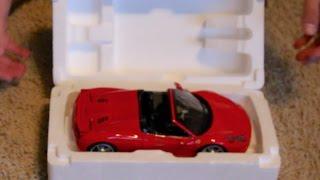 Unboxing - 1:18 Scale Hot Wheels Elite Ferrari 458 Spider