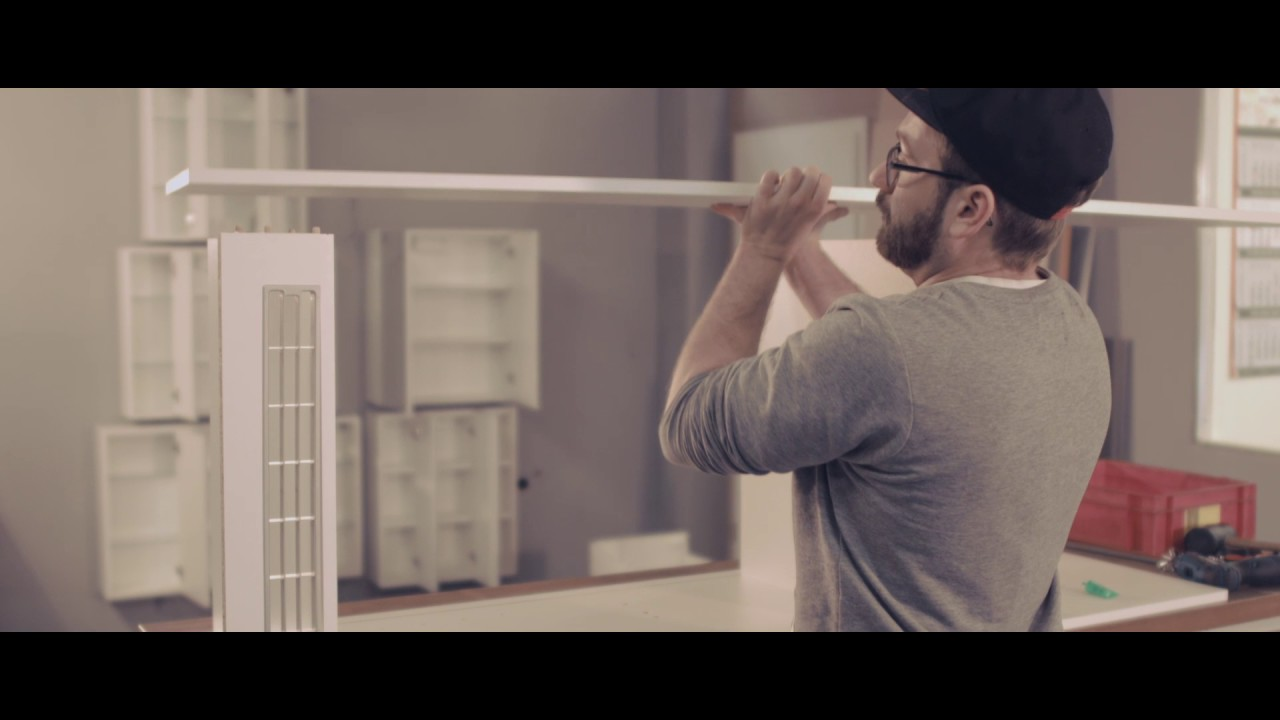 Amerikanischer Kühlschrank Umbauschrank : Küche umbauschrank für kühlschrank youtube