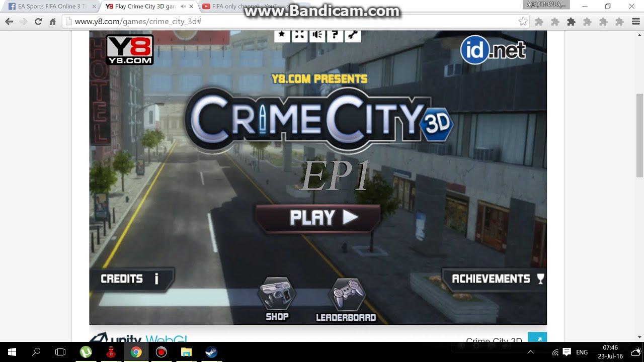 CRIME CITY 3D GAME EP1 เเลคโว้ย