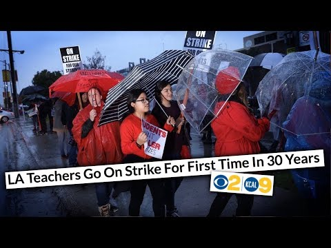 Thousands of LA Teachers Strike—You Won't Believe How BAD School Conditions Are