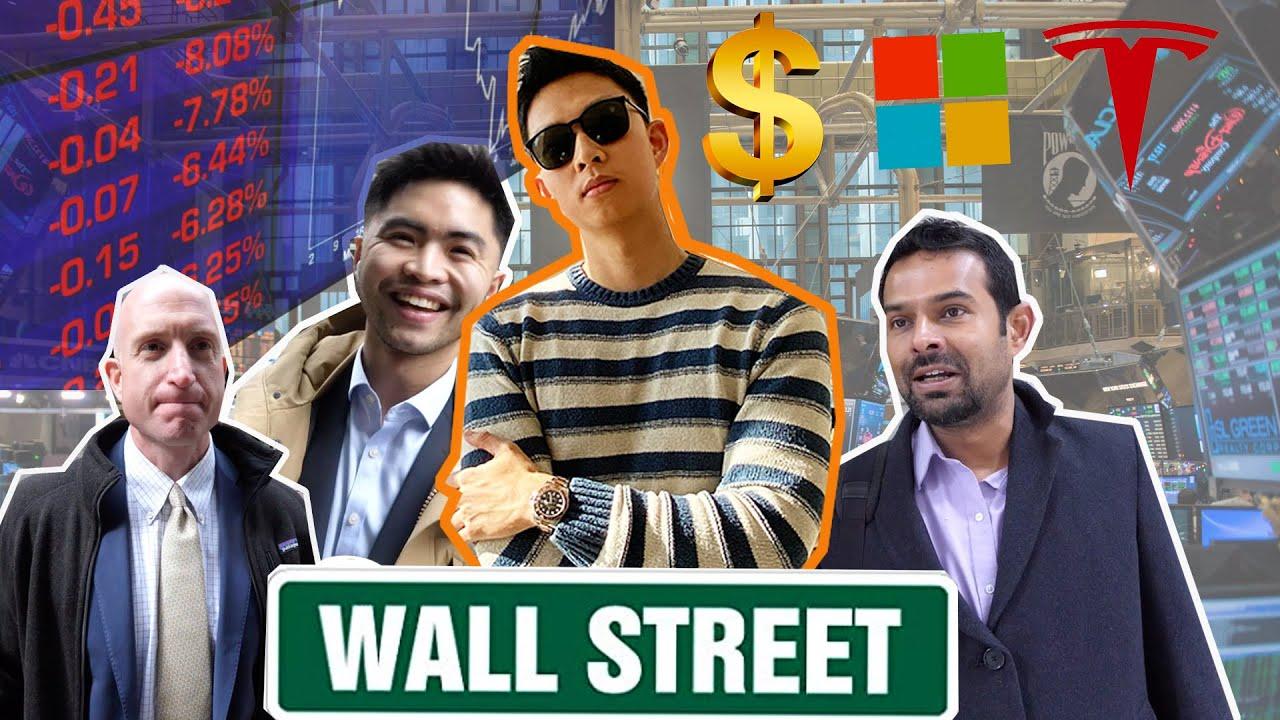 Asking WALL STREET Analysts What Stocks to Buy   問華爾街分析員買什麼股票好 - YouTube