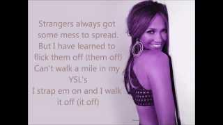 Jennifer Lopez -Mile in these shoes w/ Lyrics