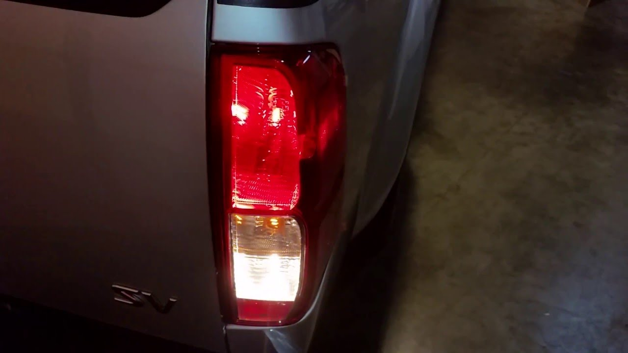 2005 2016 Nissan Frontier Testing Tail Lights After