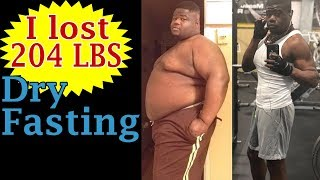 I lost over 200 Lbs With Fasting (Justin's Transformation)