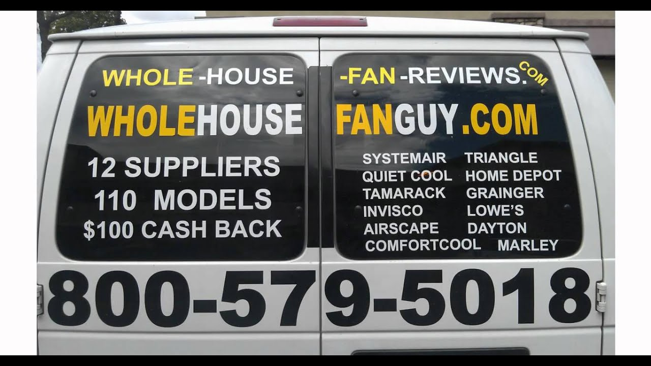 1dd2a80d55e Whole House Fan Guy -Elk Grove Village IL.avi - YouTube