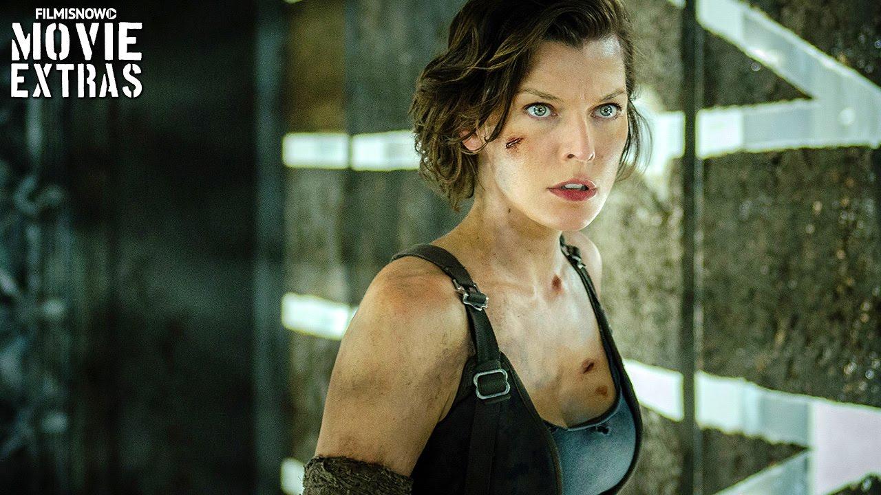 Resident Evil The Final Chapter Abigail Featurette: Resident Evil: The Final Chapter 'Alice Returns