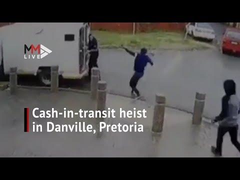 Cash-in-transit van robbed by gunmen in Pretoria