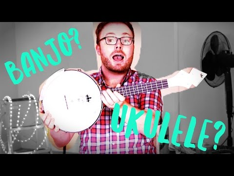 WHAT IS A BANJOLELE?! A BANJO? A UKULELE?