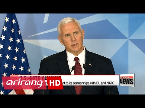 Trump wants real progress on NATO defense spending this year: Pence