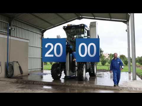 Nouvelles Braud 9000: Tutoriel lavage intégré / New Holland Agriculture