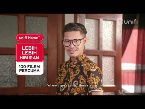 IKLAN RAYA TM UNIFI 2019 : LEMAN LEBIH IS LEBIH OVER