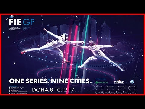 Doha Grand Prix 2017 Women's Epee Pouls - Piste Red