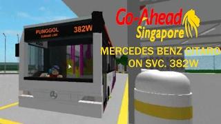 [Go-Ahead Roblox] Mercedes Benz Citaro on Svc. 382W