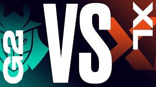 G2 vs. XL - Week 8 Day 3 | LEC Summer Split | G2 Esports vs. EXCEL (2021)