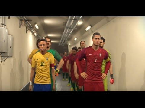 PORTUGAL vs BRASIL EPIC CUP FINAL MATCH PES 2017 GAMEPLAY HD