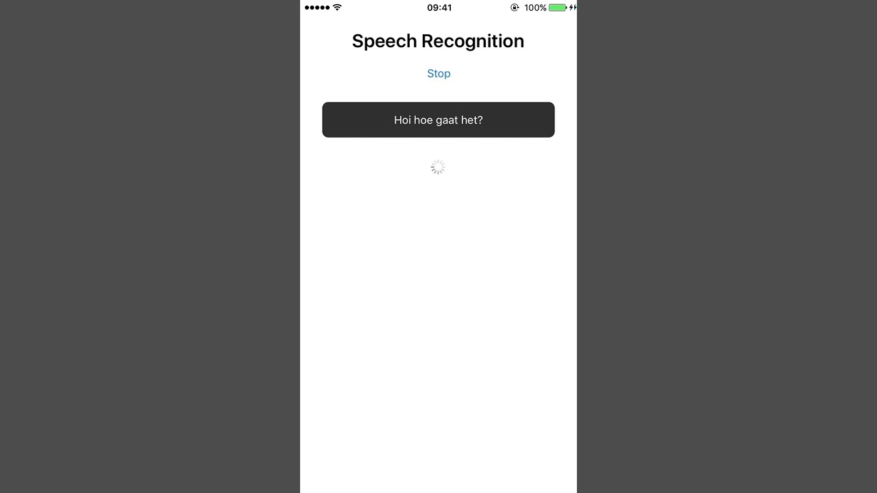 Adding Speech Recognition Capabilities to your NativeScript app