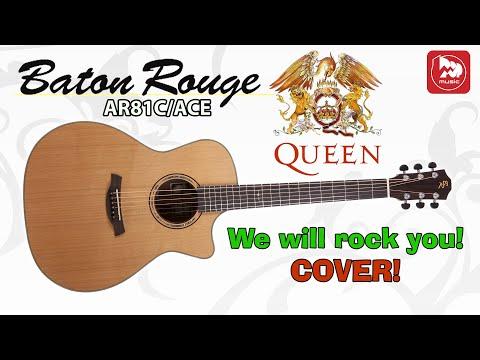 BATON ROUGE AR81C/ACE - Фингерстайл гитарист Андрей Аксенов о своей гитаре