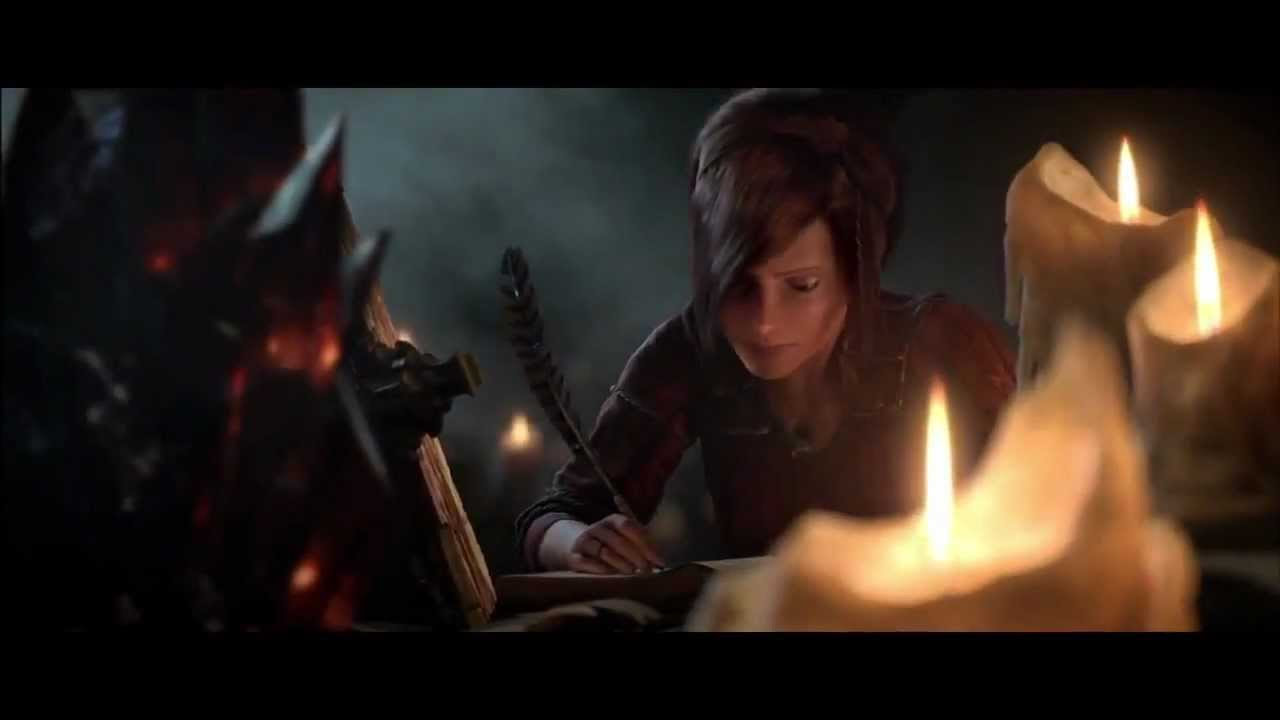 Diablo 3 The Black Soulstone Cinematic Original Official Diablo Iii D3 Cutscene Trailer Youtube