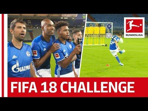 Naldo, Coke, McKennie & Co. - EA SPORTS FIFA 18 Bundesliga Free Kick Challenge - FC Schalke 04
