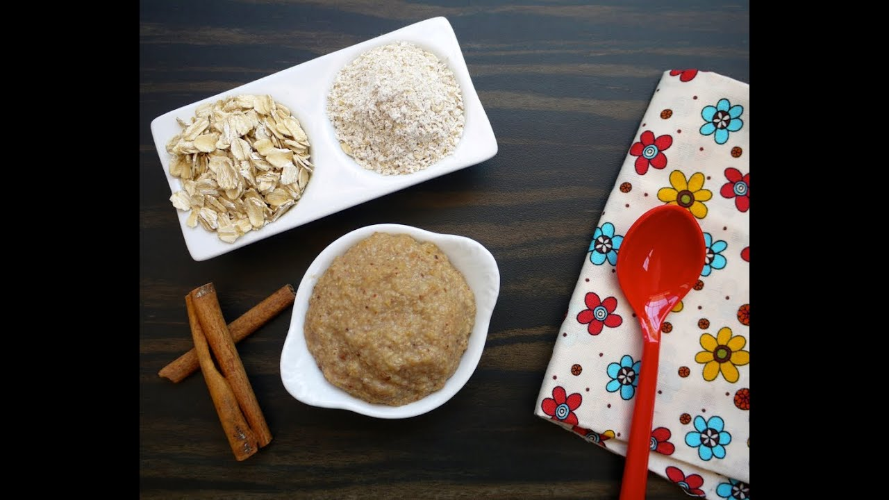 Oatmeal cereal homemade baby food weelicious youtube oatmeal cereal homemade baby food weelicious ccuart Gallery