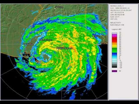 Hurricane Isaac 2012: Louisiana landfall