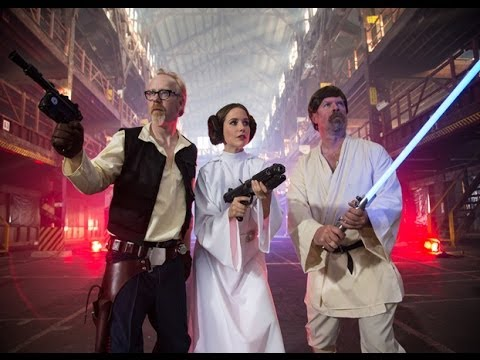Star Wars Colombia / Mythbusters Star Wars Trailer
