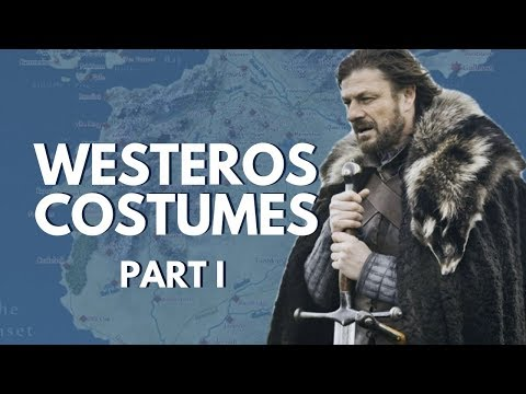 Costumes of Westeros Part I (House Stark, House Bolton, House Mormont) Game of Thrones #10