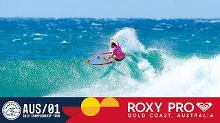 Moore vs. Gilmore vs. Macaulay - Roxy Pro Gold Coast: Round Three, Heat 4