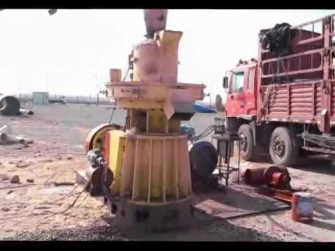 1T/H wood pellet machine/YULONG Biomass pellet machine