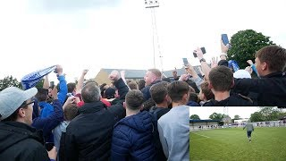 PROMOTION, EXTRA TIME, PITCH INVASION, PARTY! - MET POLICE VS TONBRIDGE ANGELS