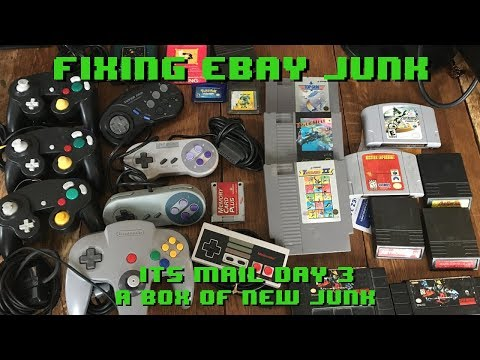 Fixing eBay Junk - It's Mail Day 3 - Bought a box of junk