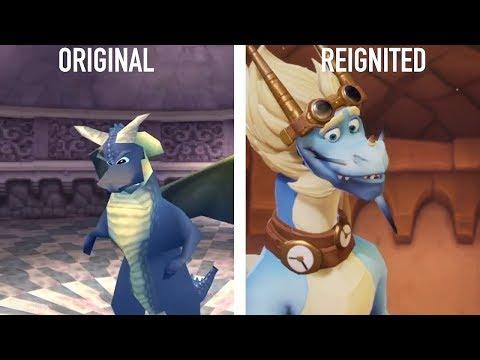 SPYRO Reignited Trilogy - Graphics Comparison