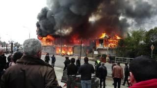 Пожар в Лоо 16.03.2017