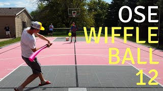 Wiffle Ball 12 - TRADE! - Labor Day Weekend Game - Bash Bros vs. Twins Game 4 - 7 innings