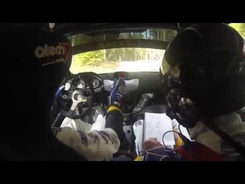 Pontus Tidemand InBoard | Rally SM SSR: SS2 Bjällerhult |