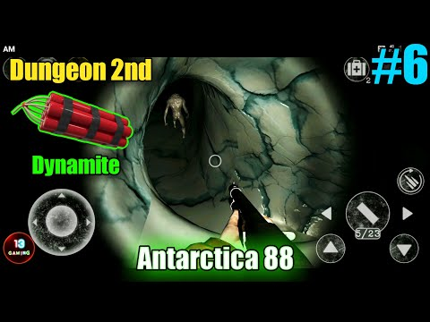 Dungeon 2   Antarctica 88 Gameplay   #6   Rifle Location   Dynamite  Way   How To Complete   Level 6  
