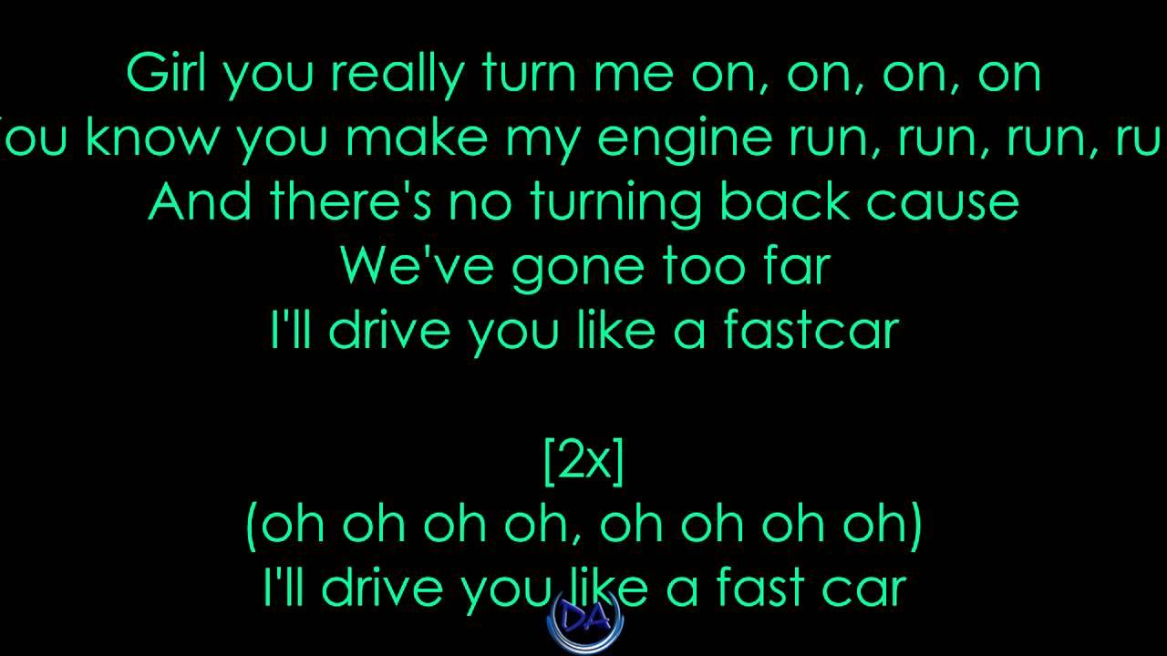Fast Car [Official Lyrics Video]