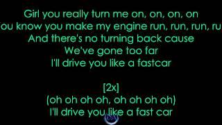 Taio Cruz - Fast Car [Official Lyrics Video]