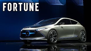 check out the mercedes benz all electric eqa sedan i fortune