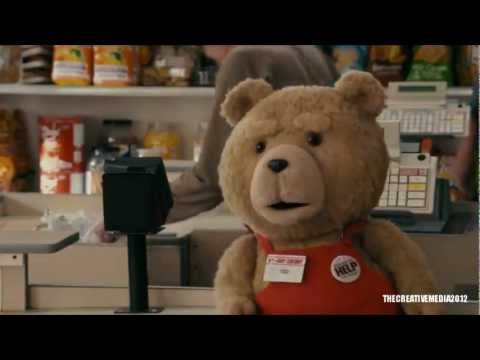 Ted Supermarket Scene [HD]