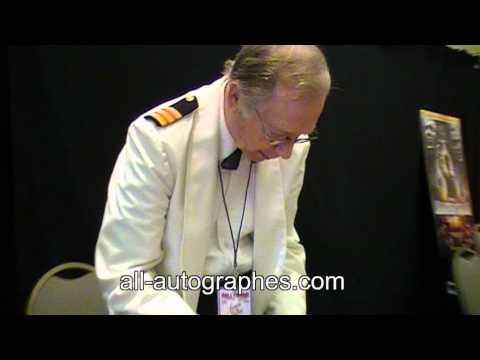 Bernie Kopell signe pour All-autographes.com // Bernie Kopell signing autographs