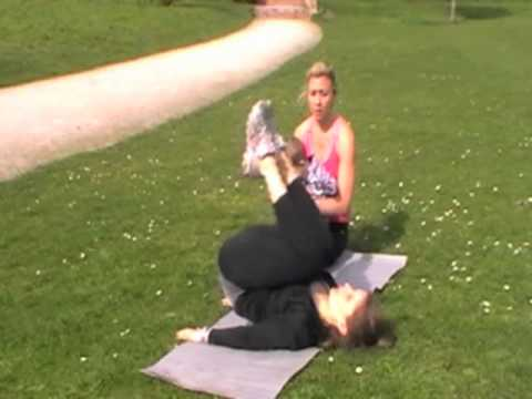 Tummy exercise female - Abs workout-lower abs - Re...