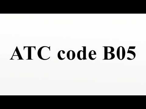 ATC code B05